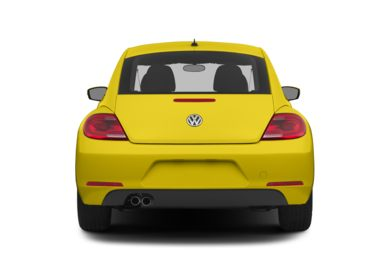Rear Profile  2014 Volkswagen Beetle