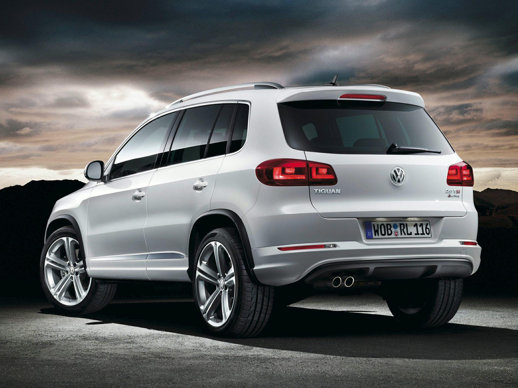 2015 Volkswagen Tiguan Rear