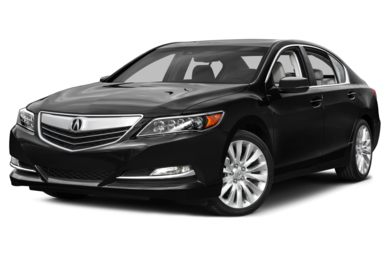 3/4 Front Glamour 2015 Acura RLX