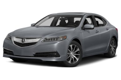 3/4 Front Glamour 2015 Acura TLX