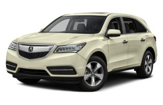 3/4 Front Glamour 2015 Acura MDX