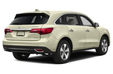 3/4 Rear Glamour  2015 Acura MDX