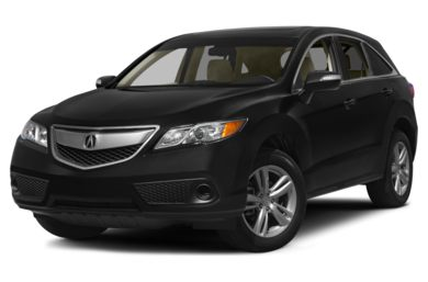 3/4 Front Glamour 2015 Acura RDX