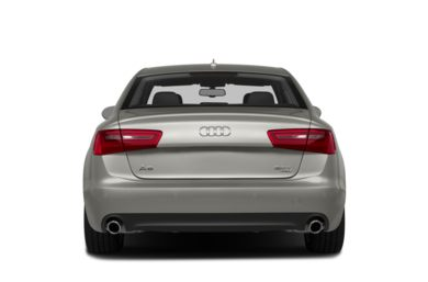 Rear Profile  2015 Audi A6