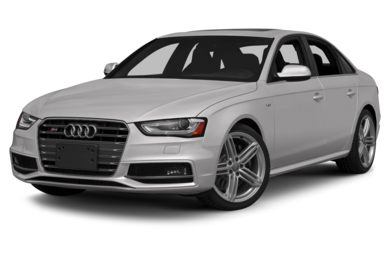 3/4 Front Glamour 2015 Audi S4