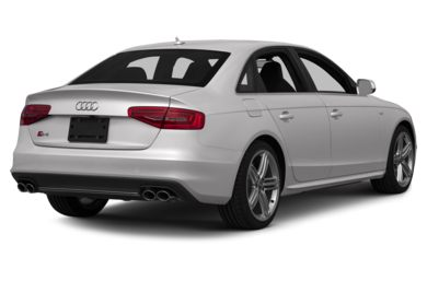 3/4 Rear Glamour  2015 Audi S4