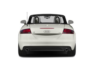 Rear Profile  2015 Audi TT