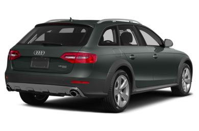 3/4 Rear Glamour  2015 Audi allroad