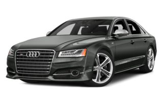 3/4 Front Glamour 2015 Audi S8
