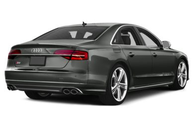 3/4 Rear Glamour  2015 Audi S8