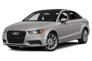 3/4 Front Glamour 2015 Audi A3