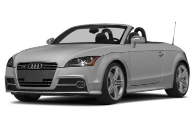 3/4 Front Glamour 2015 Audi TTS