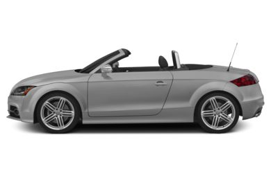 90 Degree Profile 2015 Audi TTS