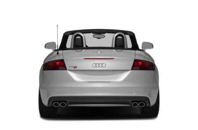 Rear Profile  2015 Audi TTS