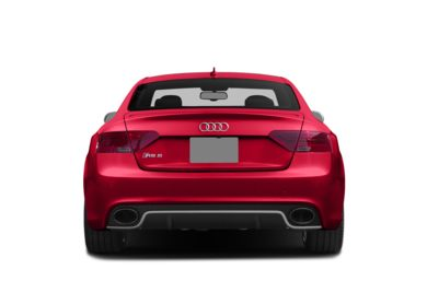 Rear Profile  2015 Audi RS 5