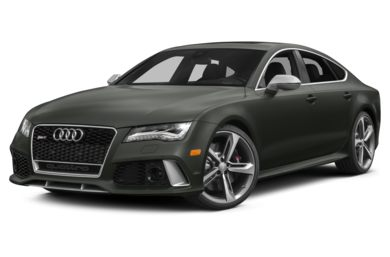 3/4 Front Glamour 2015 Audi RS 7