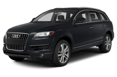 3/4 Front Glamour 2015 Audi Q7