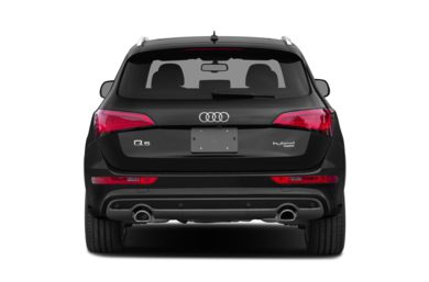 Rear Profile  2015 Audi Q5 hybrid