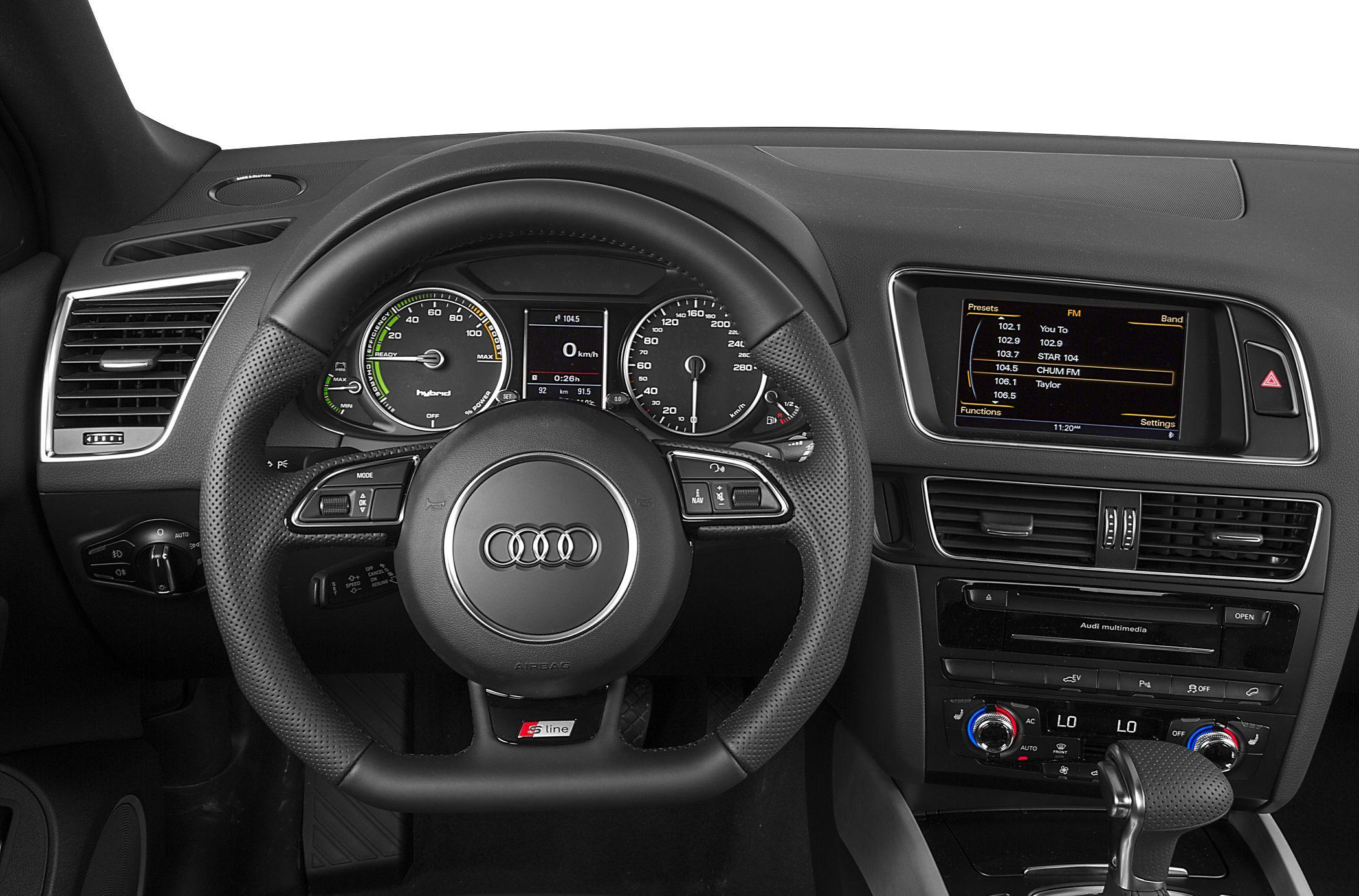 2015 Audi Q5 Hybrid Interior Dash