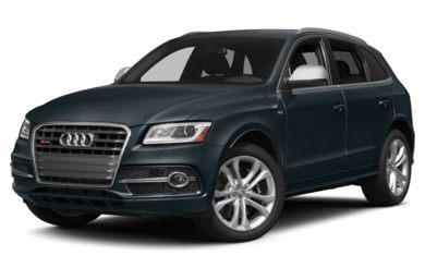3/4 Front Glamour 2015 Audi SQ5
