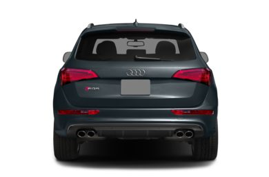 Rear Profile  2015 Audi SQ5