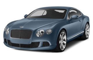3/4 Front Glamour 2015 Bentley Continental GT