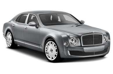 3/4 Front Glamour 2015 Bentley Mulsanne