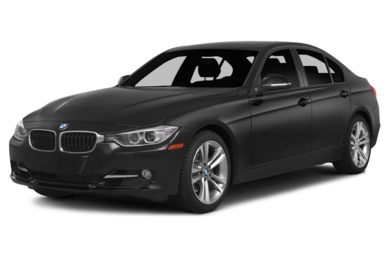 3/4 Front Glamour 2015 BMW 320
