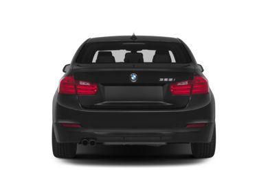 Rear Profile  2015 BMW 320