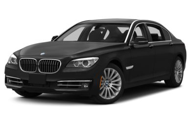 3/4 Front Glamour 2015 BMW 740