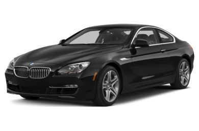 3/4 Front Glamour 2015 BMW 640