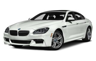3/4 Front Glamour 2015 BMW 640 Gran Coupe