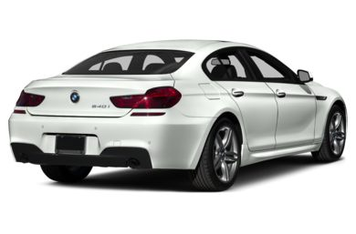 3/4 Rear Glamour  2015 BMW 650 Gran Coupe