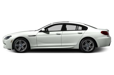 90 Degree Profile 2015 BMW 650 Gran Coupe