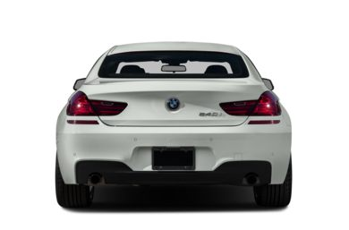 Rear Profile  2015 BMW 650 Gran Coupe
