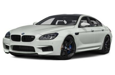 3/4 Front Glamour 2015 BMW M6 Gran Coupe
