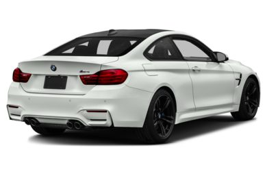 3/4 Rear Glamour  2015 BMW M4