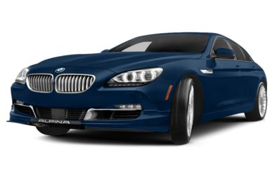 3/4 Front Glamour 2015 BMW ALPINA B6 Gran Coupe