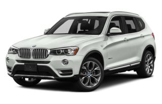 3/4 Front Glamour 2015 BMW X3