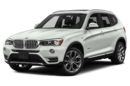 3/4 Front Glamour 2017 BMW X3