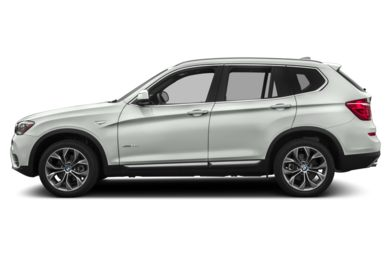90 Degree Profile 2017 BMW X3