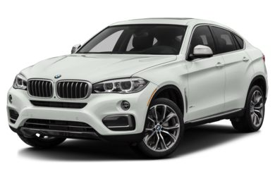 3/4 Front Glamour 2017 BMW X6
