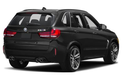 3/4 Rear Glamour  2017 BMW X5 M