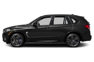 90 Degree Profile 2017 BMW X5 M