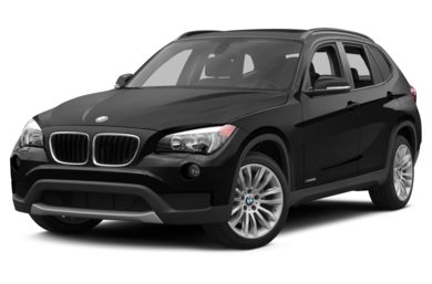 3/4 Front Glamour 2015 BMW X1