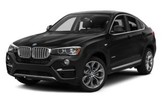 3/4 Front Glamour 2015 BMW X4