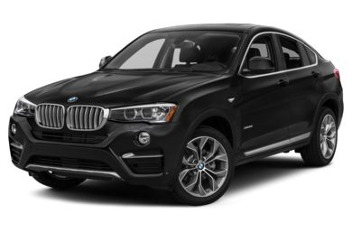 3/4 Front Glamour 2017 BMW X4
