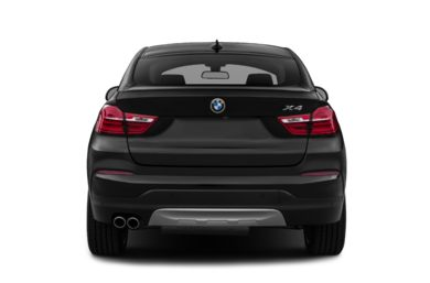 Rear Profile  2015 BMW X4