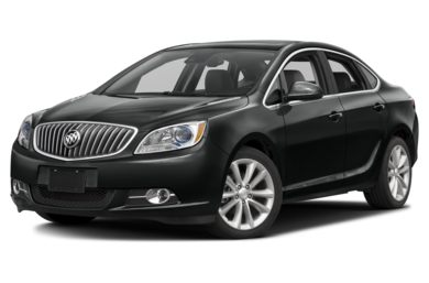 3/4 Front Glamour 2017 Buick Verano