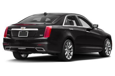 3/4 Rear Glamour  2016 Cadillac CTS
